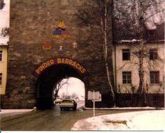 Pinder Barracks, Zirndorf Germany