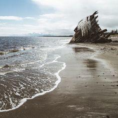 A shipwreck along the coast of Haida Gwaii in Northern BC. O Canada, Canada Travel, Alaska, Haida Gwaii, Prince, Abandoned Places, Abandoned Castles, Abandoned Mansions, The Province