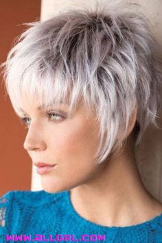 Short Hair With Layers, Short Hair Cuts For Women, Grey Hair Styles For Women, Short Choppy Haircuts, Short Gray Hairstyles, Latest Short Haircuts, Choppy Hairstyles, Layered Hairstyles, Hairstyles 2016