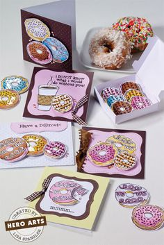 Hero Arts Cardmaking Idea: Have a Donut
