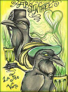 Absint är en mystisk dryck man inte tröttnar på och det visas så otroligt mycket…