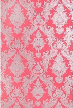 ShopStyle: Damsel Wallpaper - Coral  So cute for a girls room...