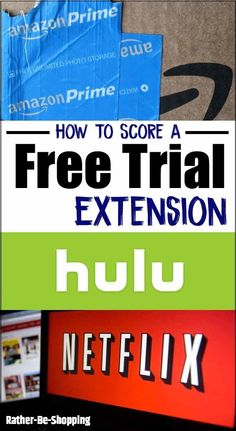 How to Ask For a Free Trial Extension with Amazon Prime, Netflix, and Hulu Netflix Hacks, Tv Hacks, Netflix Free Trial, Preparing For Retirement, Play Your Cards Right, Amazon Hacks, How To Make Money, How To Get, Money Saving Tips