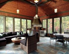 Porch Four Season Porch Design, Pictures, Remodel, Decor and Ideas - page 2
