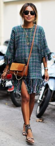 Tweed Twirling Dress Fall Inspo # Jules Trends Of Fall Apparel Inspo Tweed Twirling Dress Twirling Dress Fall Inspo Must-Have Twirling Dress Fall Inspo September 2015 Twirling Dress Fall Inspo How To Dress Up Twirling Dress Fall Inspo How To Rock Denim Fashion, Street Fashion, Women's Fashion, Fashion Outfits, Street Style 2018, Street Chic, Mix Style, Cool Style, Fall Dresses