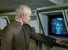 """""""Ordeal""""  Straker gets an update on the ufo's location."""