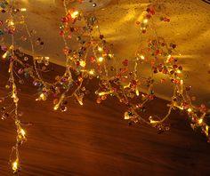 【楽天市場】【 フェアリーライト LEDイルミネーション ダイヤビーズタイプ マルチ 24球 】 /イルミネーション/フェアリーライト/モチーフ/ダイヤビーズ/LED/間接照明/姫系/クリスマス/クリーパーランプ/200cm/:ガーリーアパートメント即姫空間