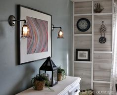 East Coast Creative: Give a Custom Feel to Your Home with Lighting! @Lucent Lampworks by Brad Michael #CustomLighting #lucentlampworks #industriallights