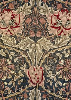 - Honeysuckle 1876. William Morris/Morris & Co. patterns.