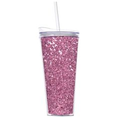 93d278e6670 Slant Collections- 10 Oz. Stemless Wine Glass- Red Glitter   Koozies ...