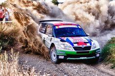 Škoda Fabia - Super 2000 (SWRC) Off Road Racing, Skoda Fabia, Rally Car, Supercars, Cars Motorcycles, Offroad, Race Cars, Track, Ford