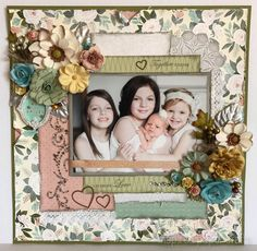 Together Forever - Sisters www.inspiredpapercrafts.com
