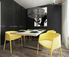 All great changes begin at the dining table #interiordesign#homezop#diningroom#design