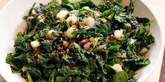 Heartland Chopped Salad recipe from Bobby Flay via Food Network - - saving primarily for the Pomegranate Molasses Dressing New Recipes, Vegetarian Recipes, Cooking Recipes, Healthy Recipes, Favorite Recipes, Healthy Salads, Healthy Foods, Yummy Recipes, Recipies