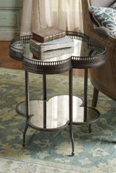 Picardy Accent Table - Sofa Accent Table, Mirror Shelf Table, Side Table | Soft Surroundings