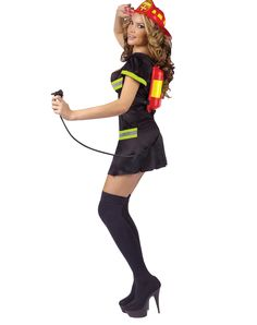 Put Out the Fire Adult Women's Costume