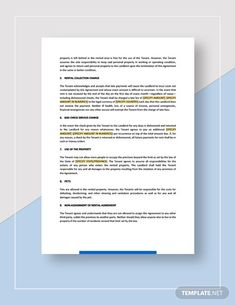 Rental Agreement Template Template - Word (DOC)   Google Docs   Apple (MAC) Apple (MAC) Pages   Template.net Rental Agreement Templates, Typography Design, Lettering, How To Improve Relationship, Word Doc, In Writing, The Covenant, Letter Size, Get The Job