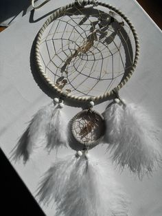 Traumfänger & Mobiles - Eleganter Traumfänger mit Rauchquarz - ein Designerstück von Traumnetz-com bei DaWanda
