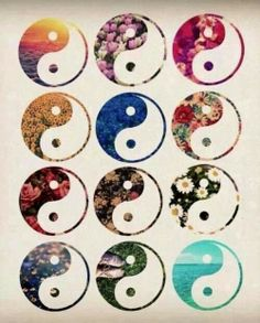 Ying Yang tattoo options