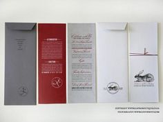 Jean-Philippe & Katherine's Invitations - Canvas Stationery Boutique