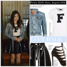 Lucy Hale, Pretty little liars, August 27th