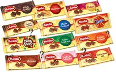 "During a long roadtrip through Sweden and Norway in 2008, we tried several flavors of the Swedish Marabou chocolate. I remember I had the ""mint krokant"" one, which was really good. We do have Marabou chocolate in Germany, too, but only two or three flavors."