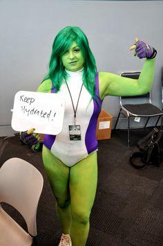 She-Hulk (Marvel) | 20 Life Saving Cosplaying Tips From Cosplayers At NYCC