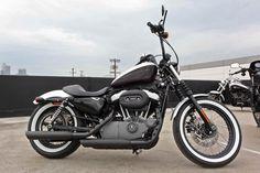 Harley-Davidson Black and White