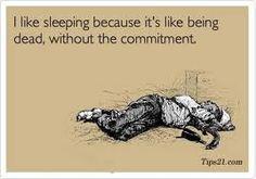 sleeping.....