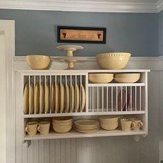 Open Kitchen Cabinets, Modern Cabinets, Kitchen Redo, Wood Cabinets, New Kitchen, Kitchen Remodel, Kitchen Design, Open Shelf Kitchen, Country Kitchen Shelves