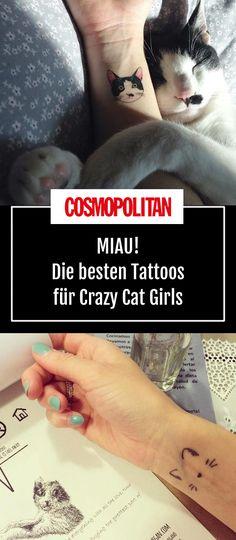 Purrrrrfect cat tattoos!