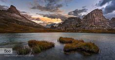 Morning Visions by mattiadattaro  alps clouds d750 dolomiten dolomites dolomiti italia italy lake landscape lavaredo mountain