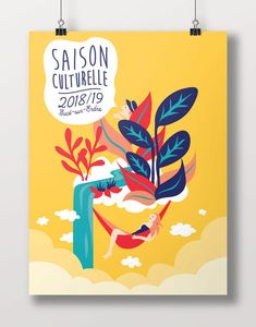Discover recipes, home ideas, style inspiration and other ideas to try. Creative Poster Design, Design Poster, Graphic Design Tips, Creative Posters, Graphic Design Inspiration, Logo Design, Illustration Noel, Graphic Illustration, Art Illustrations