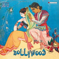 loooove indian art style (my fave) Vintage Bollywood, Bollywood Style, Egyptian Movies, Mother India, Bollywood Posters, India Ink, Global Art, Indian Art, Pottery Art
