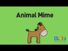 Simple fun activity to practice animals and verbs with young learners. Enjoy!
