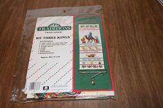 Traditions We Three Kings Cross Stitch Kit T8101 Vintage 1986