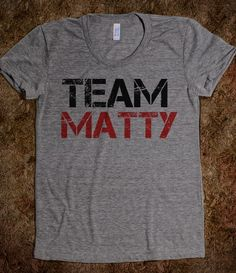 Team Matty Awkward MTV Shirt