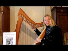 Interview/Harp Lesson with Shoshanna Harrari - YouTube