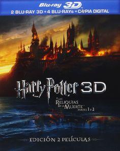 Harry Potter y las reliquias de la muerte Partes 1 y 2 Pack 3D Blu-ray