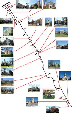 Ponce church map