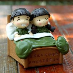 Home decoration lovers married decoration crafts gift resin doll