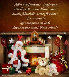 CARTAO Ano Novo Christmas Wreaths, Christmas Ornaments, First Love, Holiday Decor, Bolo Cake, Wedding, Merry Christmas Card, Happy New Year Message, Christmas Phrases