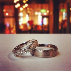 Victoria Buckley Jewellery: Matching Wedding Bands for Mr & Mrs.