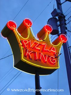 Ring the King!!! I miss the pizza the most.