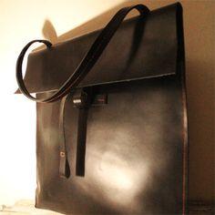 The Envelop Handbag: Ladies handmade leather bag