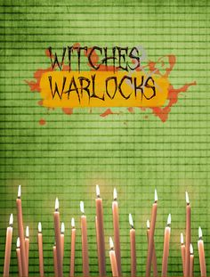 Witches and Warlocks Halloween 2-Sided Garden Flag