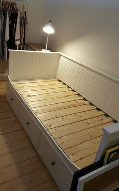 IKEA HEMNES Day Bed Pull Out Couch(king Single To Full King Bed)