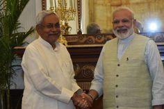 नीतीश ने की PM मोदी से मुलाकात | Punjab Kesari