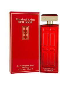 Perfume Red Door #Elizabeth Arden, Visítanos en www.clickonero.com.mx  #perfume #aroma #especial #rojo