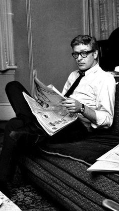 More Michael Caine.